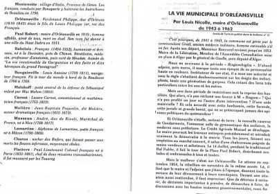 MONTENOTTE ORLEANSVILLE PAUL ROBERT RABELAIS BOUGAINVILLE MALAKOFF CARNOT MOLIERE MASSENA LAMARTINE CHARON FLATTERS