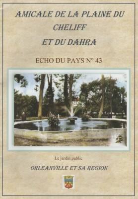Photo-titre pour cet album: L'Echo du Pays - 2016 - N° 43