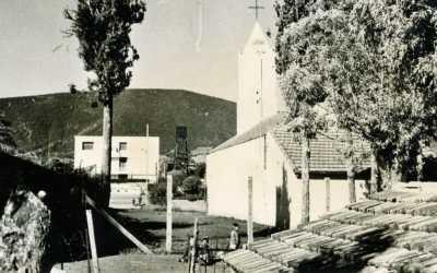 """l'Eglise """"Saint Joseph""""  de Montenotte en 1962"""