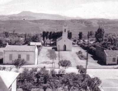 """MONTENOTTE - l'Eglise """"Saint Joseph"""" ---- 7.100 habitants en 1955"""