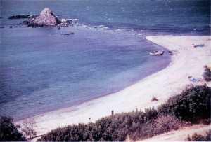 Le rocher d'El Marsa en 1959