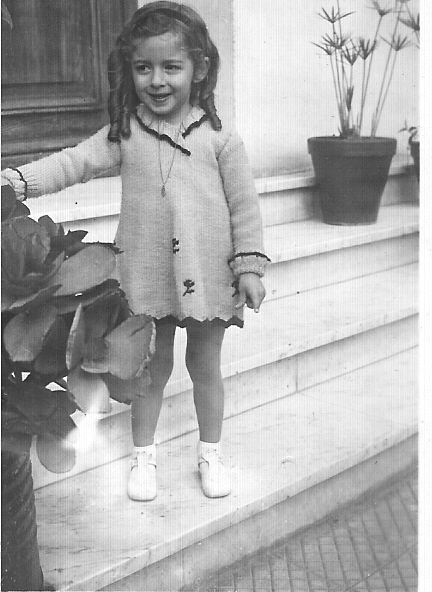 1939 - Annie LASSUS 4 ans