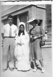 1950 - Famiille LASSUS Pierrot - Maguy - Annie