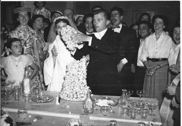 1960 - ALGER - Mariage de  Georges et Annie ENGASSER