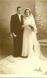 1936 Alexis MOUCHET et Berthe ESPI