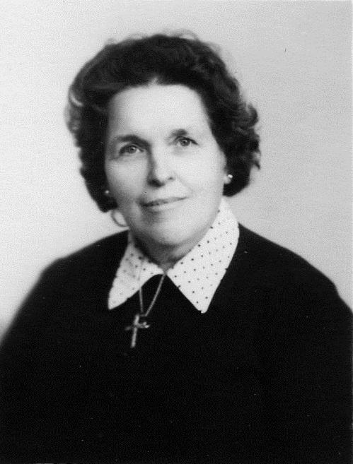 Marguerite ESPOSITO  Epouse d'Alfred CHATAIN en 1934