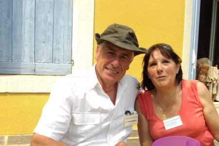 Alain GIRARD-MAYLIE (avec le chapeau de Paul BLAISE) Dominique FALQUERY