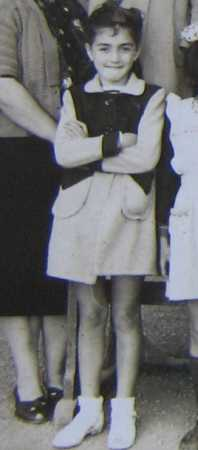 Annie-Claude FICHET 1948 - Classe de Mme RAU