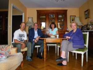 2009  Alain GABET Jean-Marie WERY Annie GABET Rosette WERY