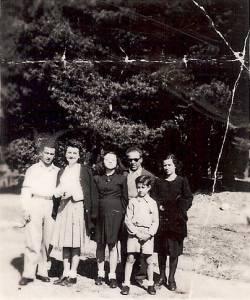 Photo-titre pour cet album: Famille GARCIA - Réfugiés d'ESPAGNE