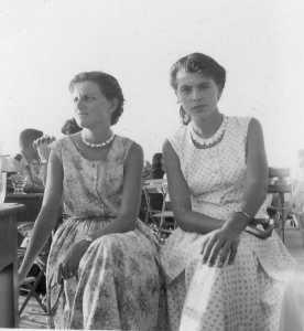 1961 Micou Garrisson et Danielle Bartolini