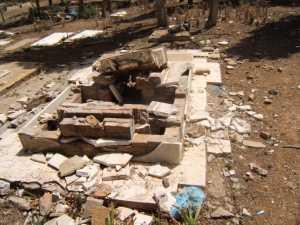 Tombe X ---- il pourrait s'agir de la Tombe de la Famille GUILLET