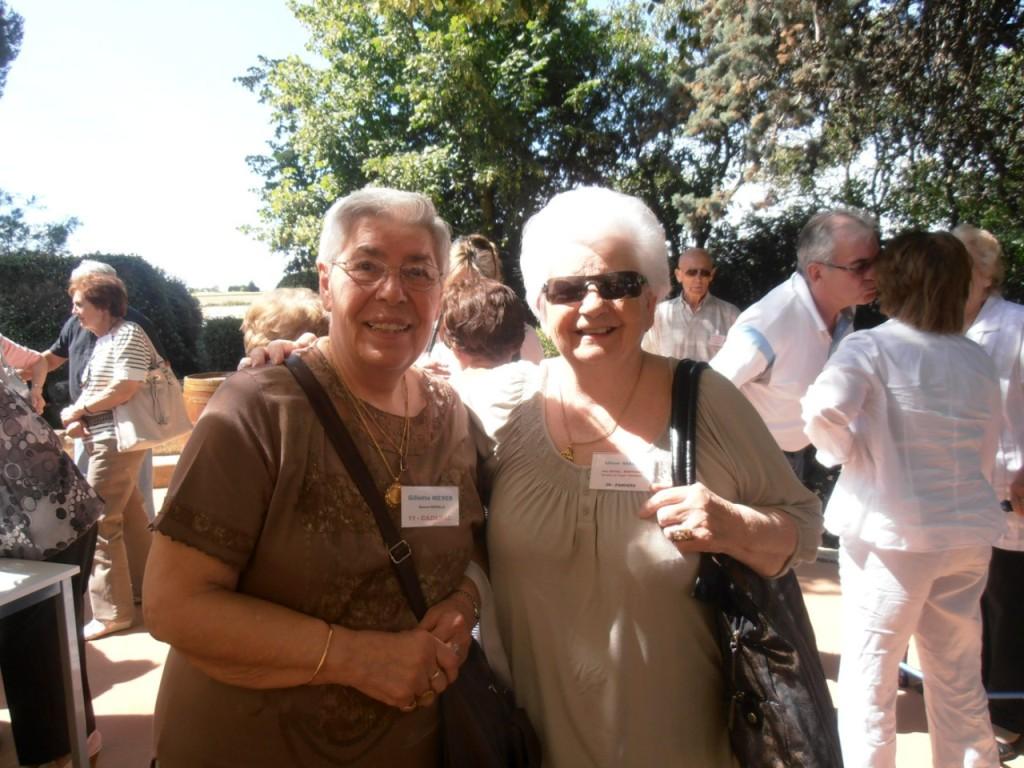 Gilette MEYER Liliane GASSIER ---- LA VIERE 2011