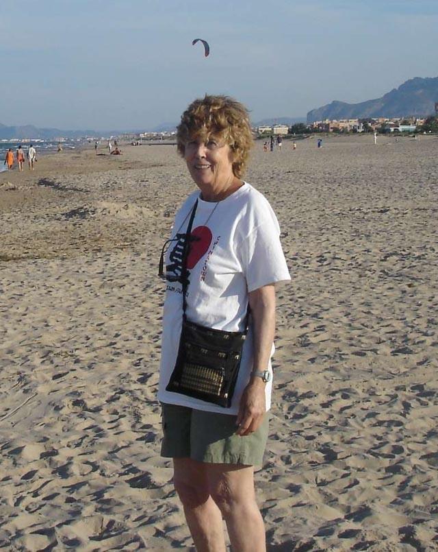 Janine GASSIER Octobre 2007 en Espagne