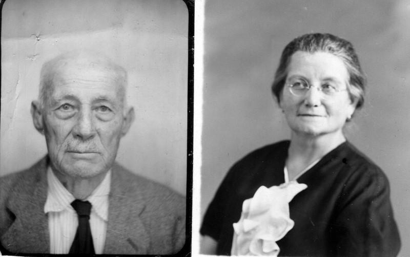 Les grands-parents  de Georges ESPOSITO Sado et Carmen ESPOSITO