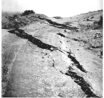 1953 le glissement de terrain route de Pointe Rouge