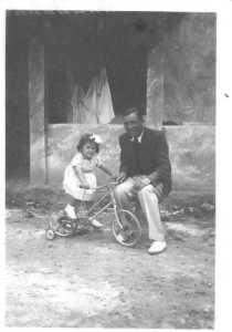 Norbert GOELZER avec sa fille Paulette
