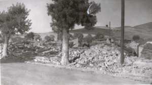 Septembre 1954 HANOTEAU le Tremblement de Terre