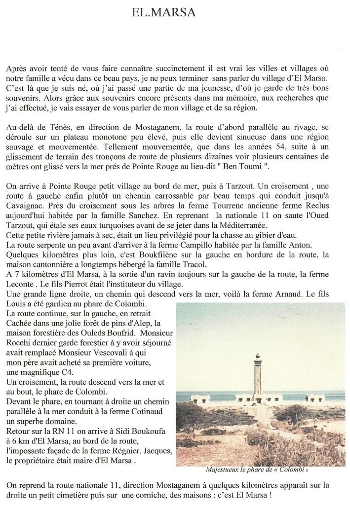 Documents transmis par Claude SUIRE