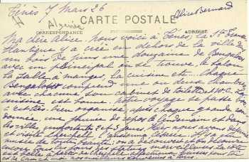 Description des bungalos  de l'Hotel Transatlantique ---- Document Sylvie FEREDJ