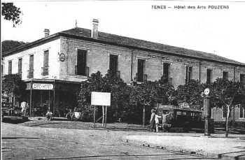 Hotel des Arts tenu par  Mr Mme POUZENS puis par Mme FRONTEAU