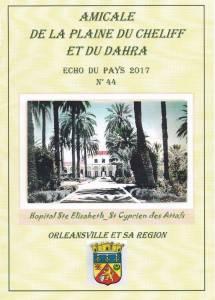 Photo-titre pour cet album: Extraits du Journal des Orléansvillois   Novembre 2017