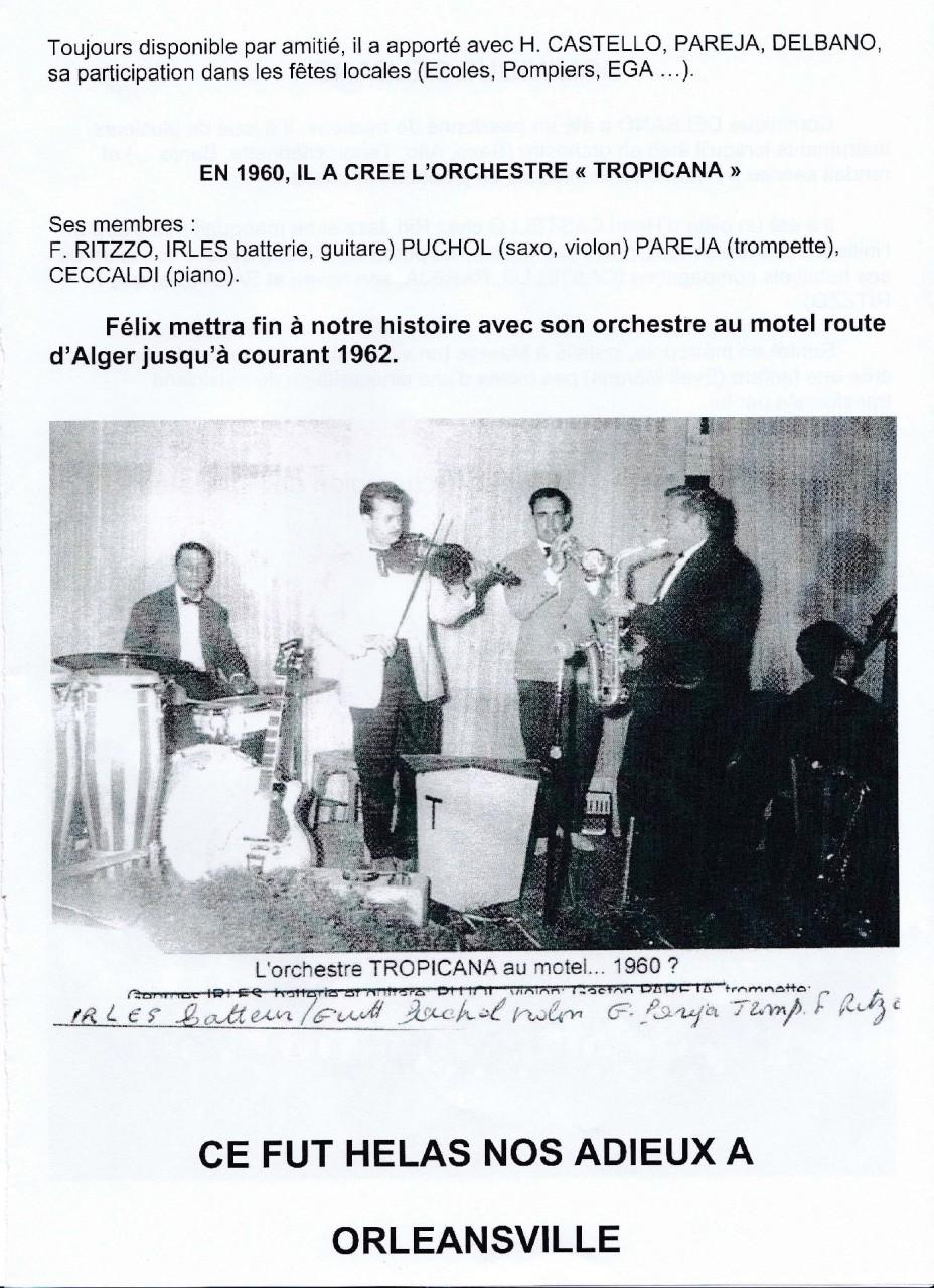 L'Orchestre TROPICANA