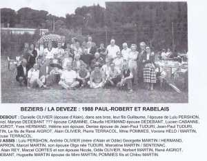 LA DEVEZE en 1988
