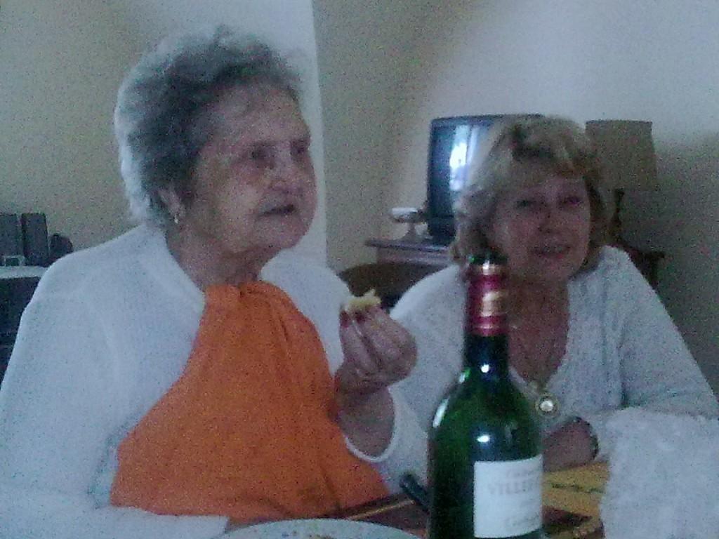 Jacqueline PAYSSERAND et sa fille Joceline PAYSSERAND