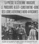 Photo-titre pour cet album: Lignes Aériennes Africaines