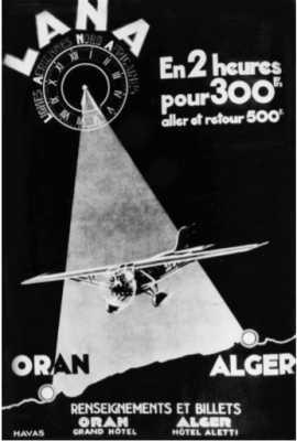 ALGER - ORAN :  300 Frs