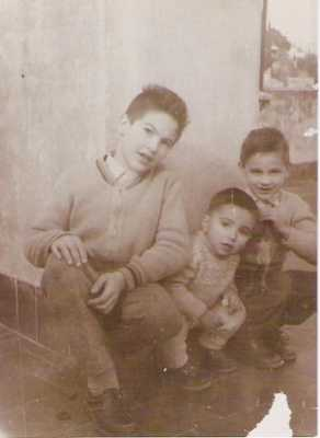 1958  Henri, Bernard et Patrick LAMBERT