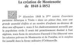 Photo-titre pour cet album: La CREATION de MONTENOTTE