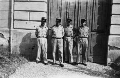 Gendarmerie Oued Fodda en 1952 1 - Antoine MARTINEZ X X X ----   Histoire d'OUED-FODDA   Cliquez Ici
