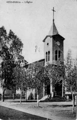 Oued-Fodda - L'Eglise Avant 1962