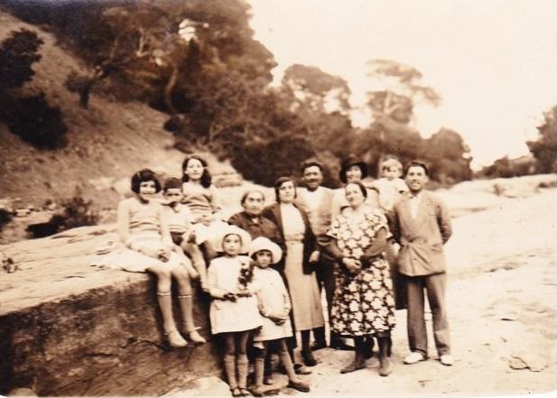 BAINS de la REINE Lundi de Paques 28 Mars 1932