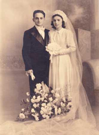 BAB-EL-OUED le 19 Novembre 1946 Paraoisse St Joseph Sylvette ?  et  Martial ?
