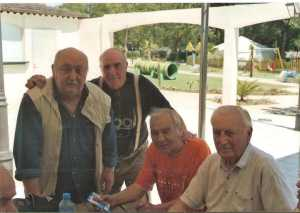 La YOLE 2006 ---- Marc LANGENDORF Marcel ROMEO Armand TUESTA Jeannot ROMEO (le coiffeur)