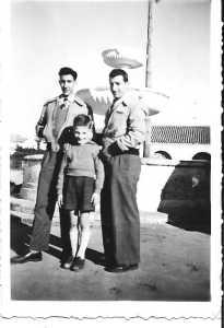 1950 - TENES ---- Loulou XICLUNA Daniel MANSION Pierre LASSUS