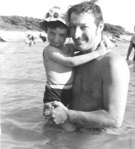 1969 Pierre LASSUS et sa fille Marie-Laure