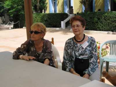Josette TESTUD  Fille de Lucien et Pierrette TESTUD Epouse AMATE - Cap d'Agde (34) et Annie PECHEUX