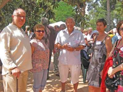 Albert ROUSO, ZOUZOU, Maamar et Chantal CHAMMA