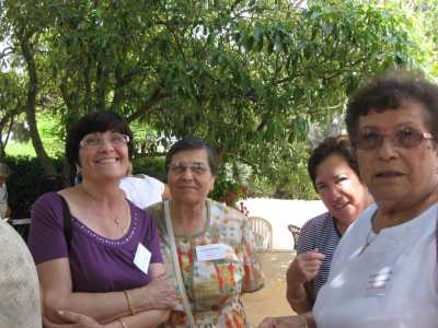 Marcelle, Lucienne ROSTOLL, Claudine ORFILA et Georgette ROSTOLL