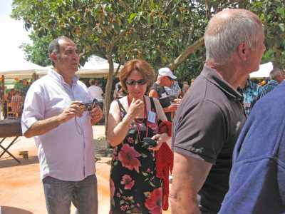 Rania SALMI et  son mari Abdelhafid  (Hanoteau)