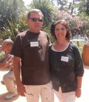 Jean-Michel THOUVENIN et sa compagne Solange REVERT ---- Fils de Lucienne THOUVENIN  petits-enfants de BERNICOLA Pauline ----   FAMILLE BERNICOLA