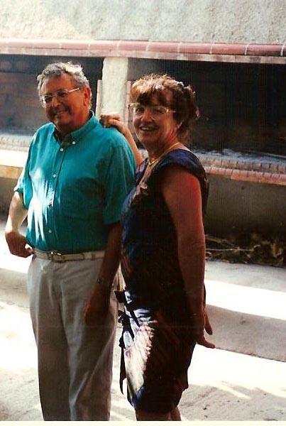 BANSARD Claude et son Epouse Marie-Claire  ---- VICHY (03) ---- Dimanche