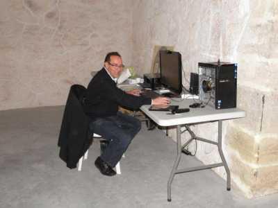 Daniel WERY scanne vos photos en direct live