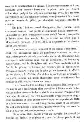 """""""en 1849 et 1850 la dysenterie fit des ravages ..."""" ... en 1850 Montenotte avait 300 habitants ..."""""""