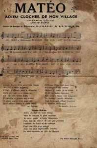la chanson qu'il adorait chanter