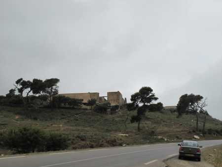 la ferme BONHOMME  photo prise depuis la route d'EL MARSA